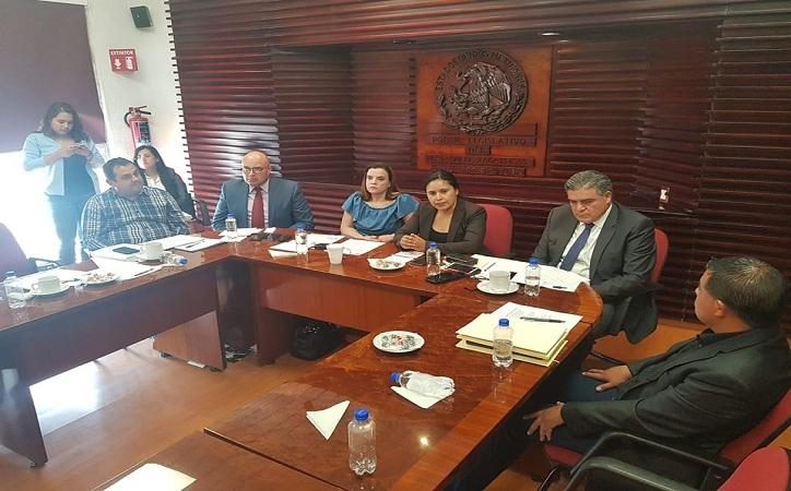 Desprecian diputados reunión con Fiscal, Rector y Secretario de Seguridad