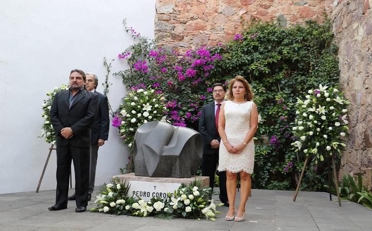 Zacatecas recuerda a Pedro Coronel, a 34 años de su fallecimiento