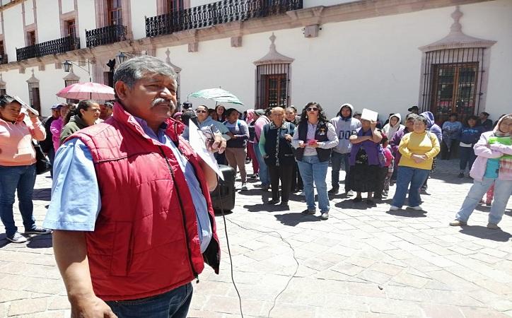 Antorchistas se manifiestan contra Godezac, exigen obra pública y apoyos