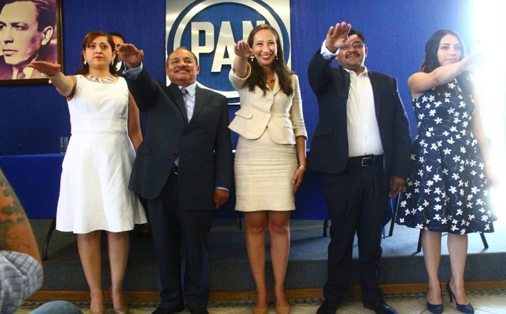 CEN vuelve a ratificar a Noemí Luna como dirigente del PAN local