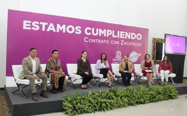 Cumple Tello compromisos del contrato con las mujeres: Rivero