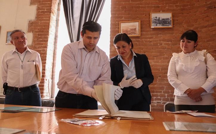 Federación entregará reconocimientos al Archivo Histórico de Guadalupe por el buen manejo de los documento