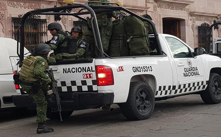 Se integra Guardia Nacional a Grupo de Coordinación local de Zacatecas; ya son 1100 elementos