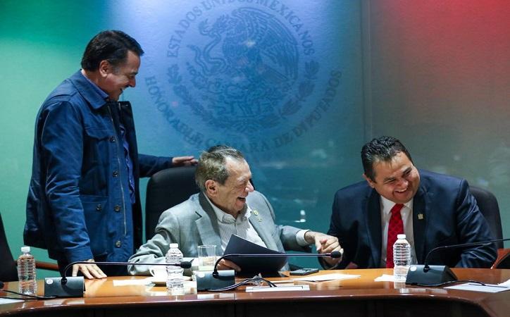 Se suma en apoyo a la UAZ el presidente de la Cámara de Diputados, Porfirio Muñoz Ledo