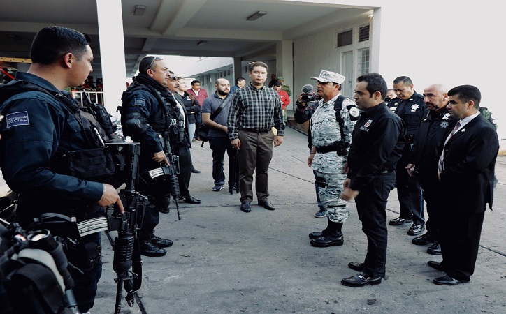 Entrega alcalde capitalino inmueble base para la Guardia Nacional