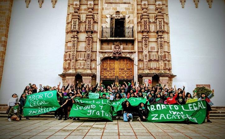 Exigen colectivos aborto legal en Zacatecas