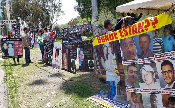 Colectivos exigen atención especial para la búsqueda y localización de desaparecidos