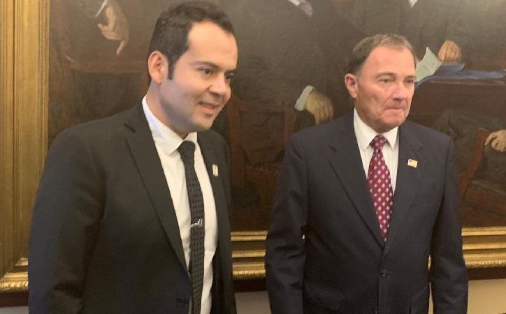 Se formaliza comitiva mixta con el gobernador de Utah en favor de los zacatecanos