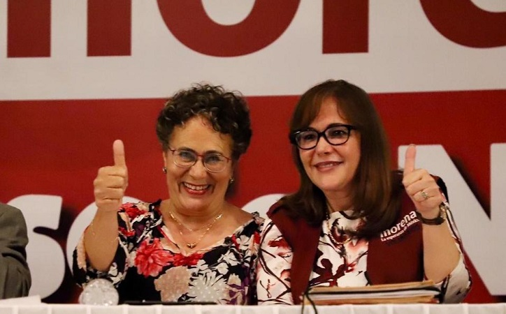 Yeidckol y Bertha quedarían fuera de la contienda para la dirigencia de Morena