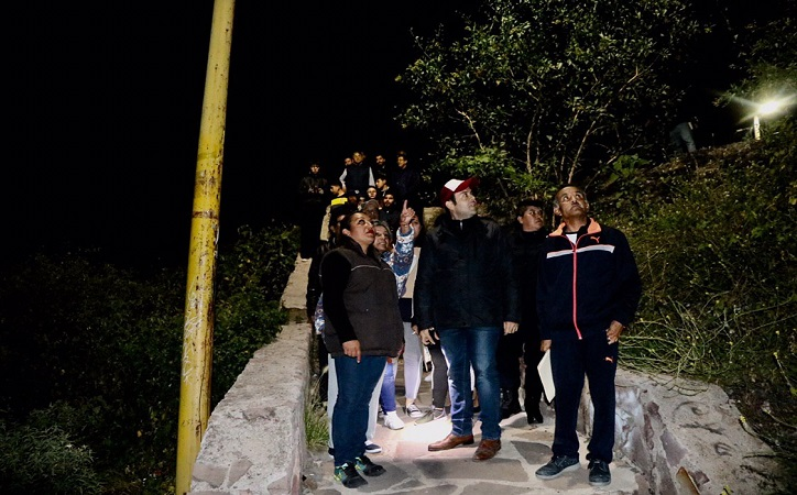 Con marchas exploratorias seguimos construyendo un Zacatecas seguro : Mejía