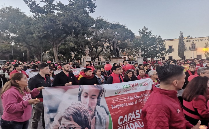 Se une ayuntamiento capitalino a lucha contra VIH/SIDA