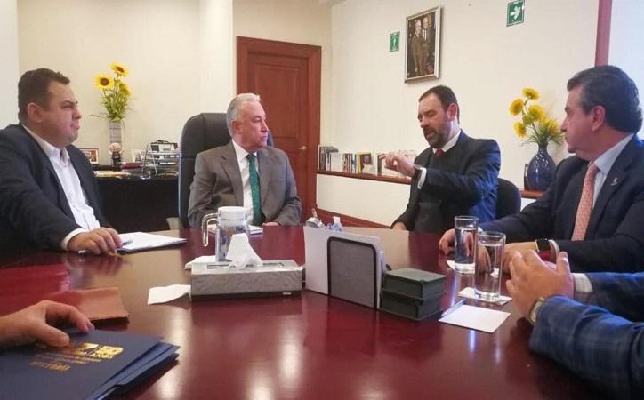 Tello y Guzmán buscar recursos para cierre de año en la UAZ
