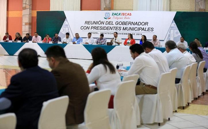 56 municipios reciben adelanto de participaciones