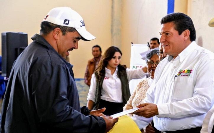 Godezac paga indemnización a los agricultores zacatecanos