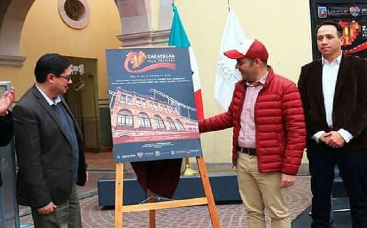 Anuncian Festival Internacional de Cine de Zacatecas [programa]