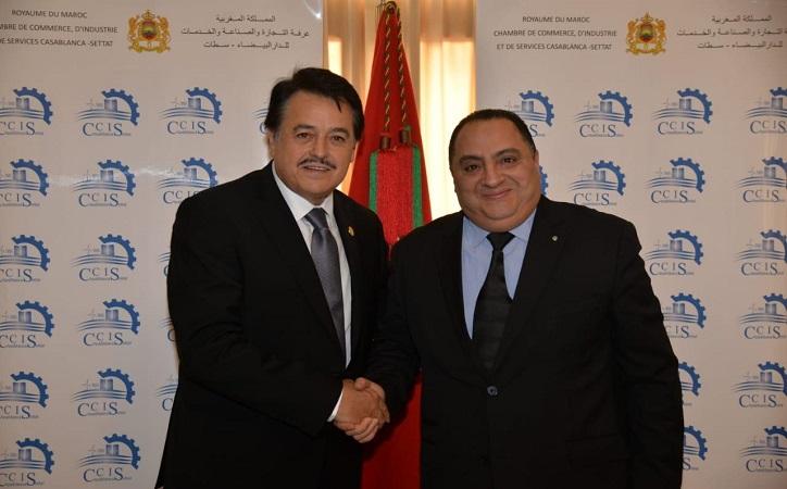 Viajan Femat a Marruecos para reforzar cooperación bilateral