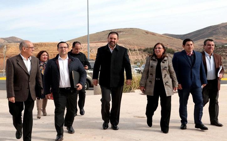 Tello gestiona ante Sener proyectos y devolución de 473 mdp para ayuntamientos