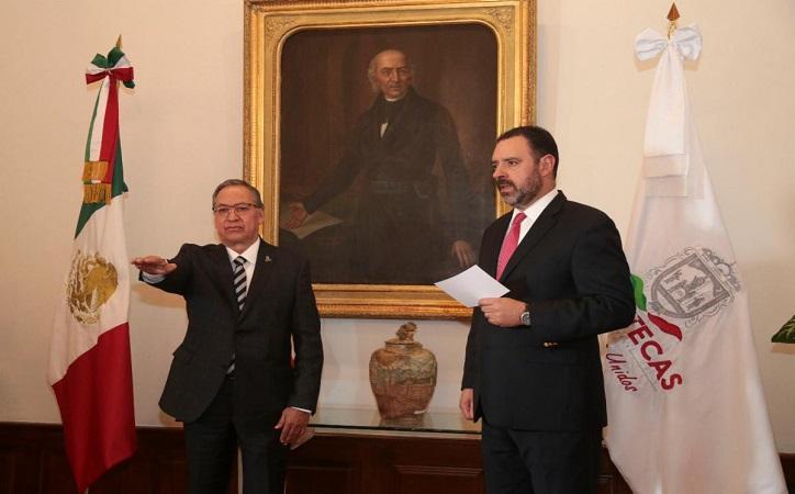 Miguel Rivera Villa, nuevo Director de Prevención y Reinserción Social en Zacatecas