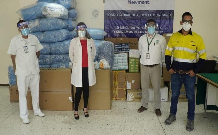 Peñasquito dona insumos médicos al IMSS para enfrentar el COVID-19