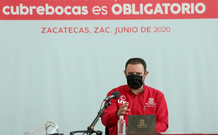 Zacatecas, de los estados que mejor ha afrontado la pandemia: Tello