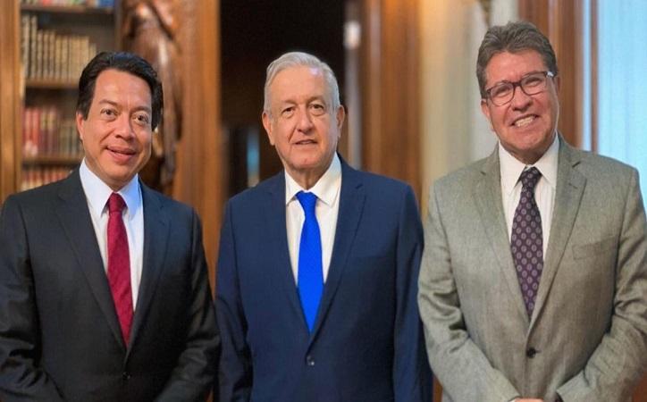 Elección del 2021 será difícil sin AMLO en la boleta admiten Monreal y Delgado