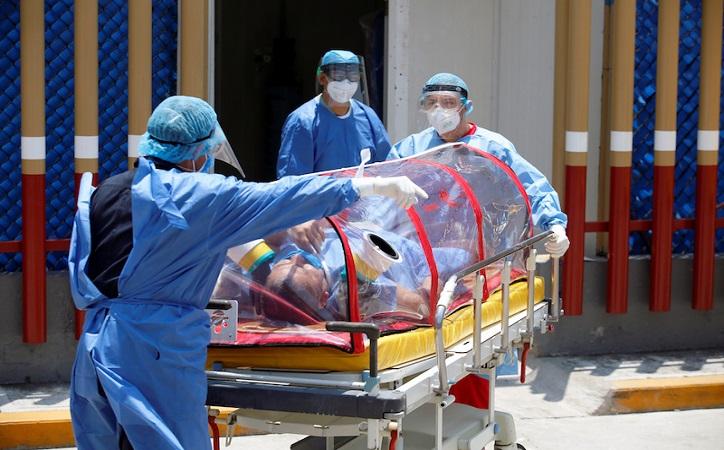 Crecen 189 por ciento los contagios de Covid-19 en México, según cifras oficiales