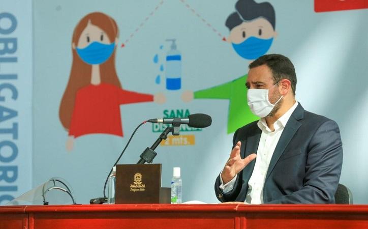 Zacatecas en lo más crítico de la pandemia