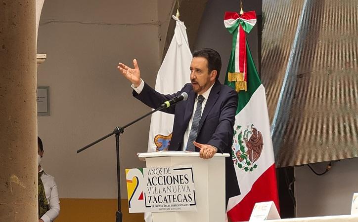 """""""Estoy preparado para dar resultados a todo el Estado de Zacatecas"""": Miguel Torres"""