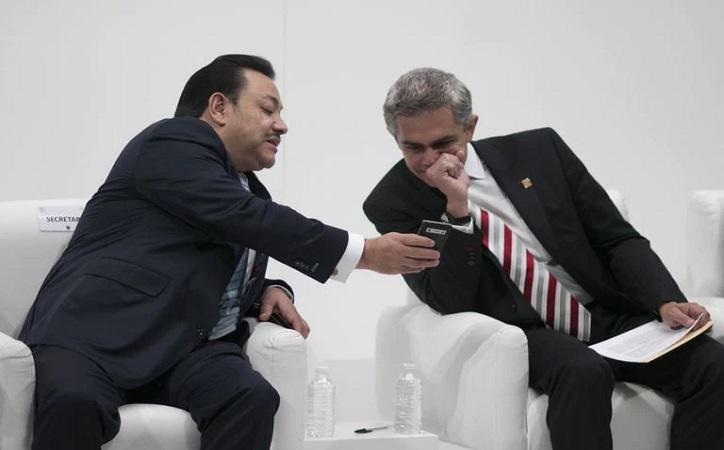 Revelan trama de espionaje en gobierno de Mancera; RMA buscó pactar con Ortíz Mendez en 2017
