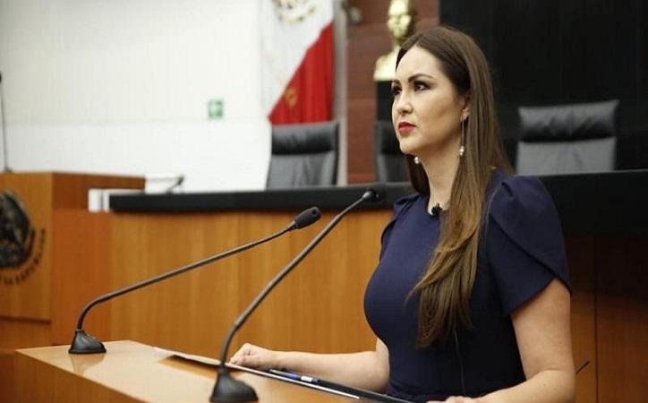Geovanna Bañuelos se lanza contra RMA; paridad de género en candidaturas a gobernador el tema