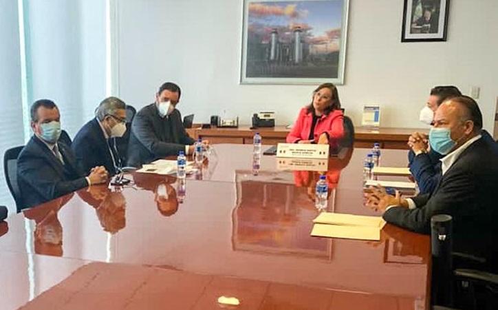 Gobernador y Secretaria de Energía coordinan esfuerzos en favor del desarrollo económico de Zacatecas
