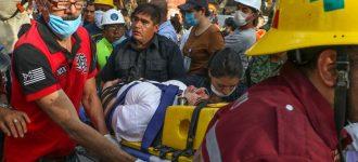Al menos 139 muertos por sismo, fallecen 8 niños en escuela colapsada