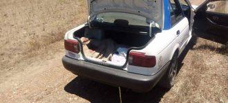 Localizan cadáver en cajuela de taxi