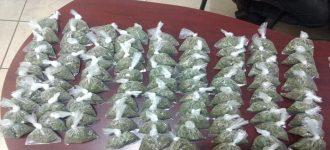 Asegura PEP más de 200 dosis de droga en dos municipios