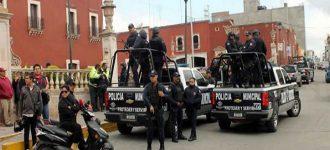 Despliegan operativo en Fresnillo tras ataque armado en funeraria