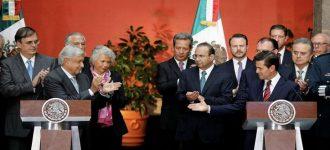"""EPN defiende Reforma Educativa; """"se cancelará"""" revira AMLO"""