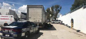Encuentran a 146 migrantes en un tráiler en Concepción del Oro