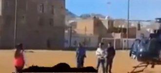 """Esposa de Tello usa helicóptero de la SSP en plena crisis de inseguridad; """"para llevar cobijas"""" dice Camberos [video]"""