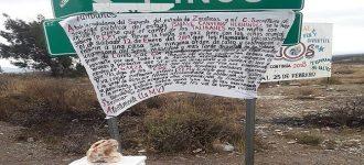 Amenaza crimen organizado al Secretario de Seguridad Camberos, en mantas y hieleras con cabezas de cerdo