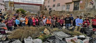"""Ulises Mejía cumple con el """"Basura Challenge"""", lanza reto a otros alcaldes"""