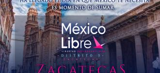 Fracasa asamblea de México Libre en Zacatecas; acusan infiltración para tumbarla