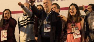 El zacatecano Ramírez Cuellar se asume como presidente nacional de Morena, Polevnsky responde con video