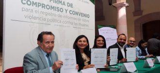 Zacatecas, primer estado en registrar datos de violencia política contra las mujeres