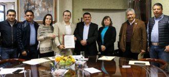 Presenta Mejía plan integral de manejo de agua potable ante Legislatura; rebajar tarifas el planteamiento
