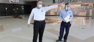 Reabre Plaza Galerías en Zacatecas en pleno pico de pandemia