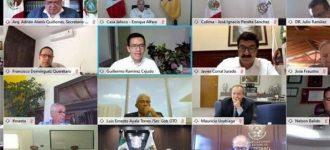 "Gobernadores de la ""Alianza Federalista"" piden renovar pacto fiscal por T-MEC"